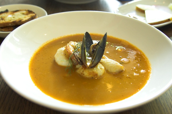 The European: fish soup