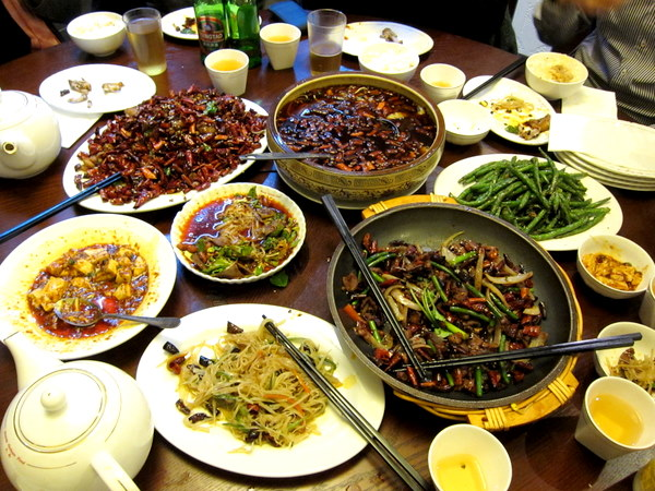 Dainty Sichuan – Off the spork