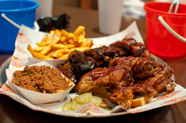 Ribs and wings