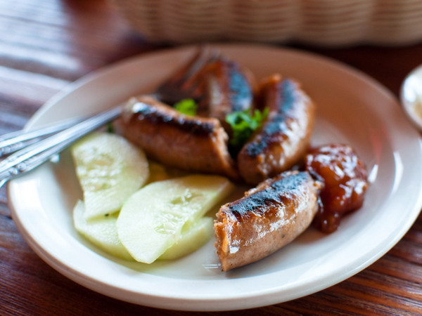 Tuki trout farm - sausages