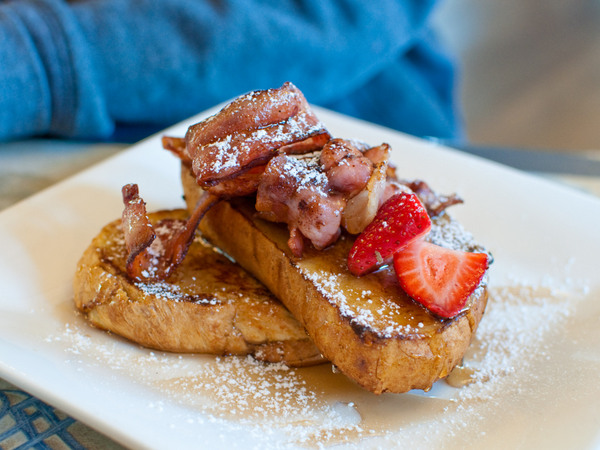 Turret Cafe - french toast