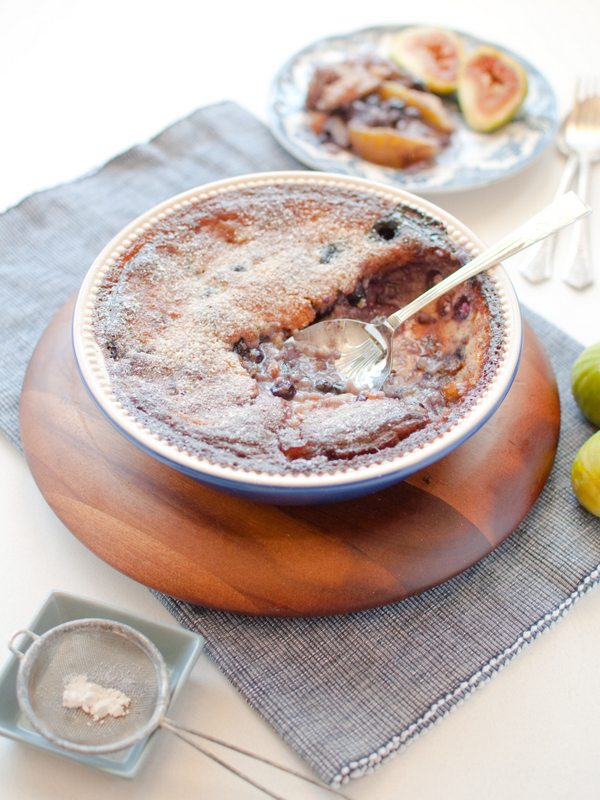 Fig clafoutis