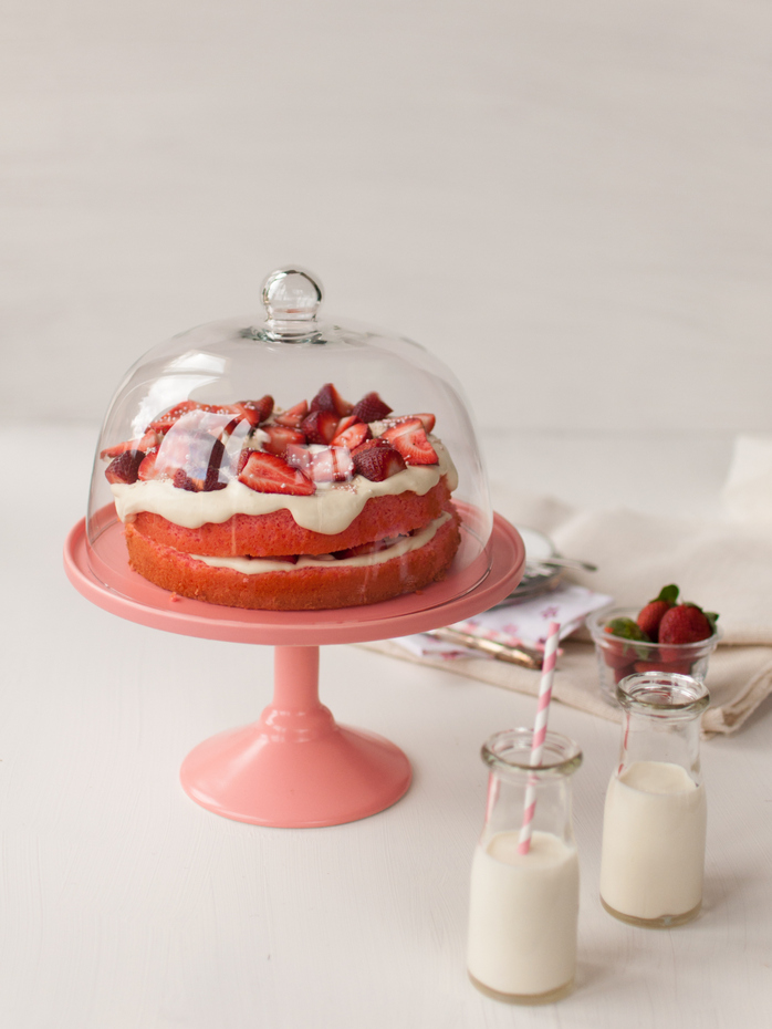Chiffon Cake With Strawberries And Cream Recipes — Dishmaps